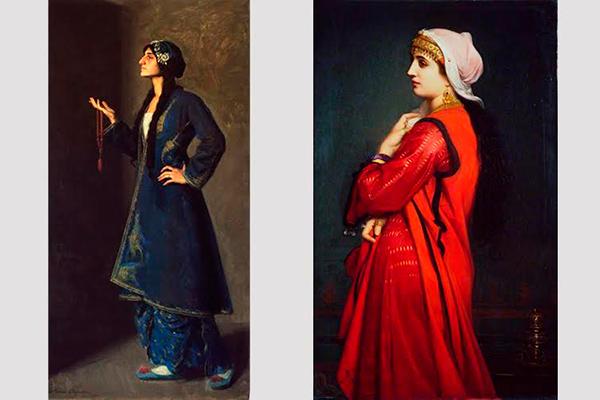 Красота армянских женщин на полотнах западных художников