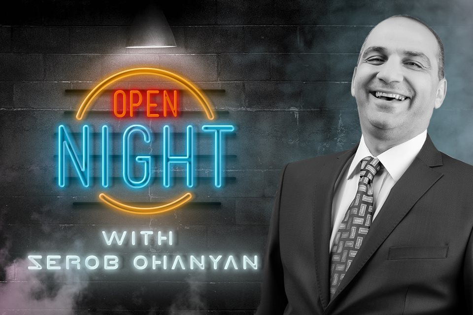 OPEN NIGHT with SEROB OHANYAN